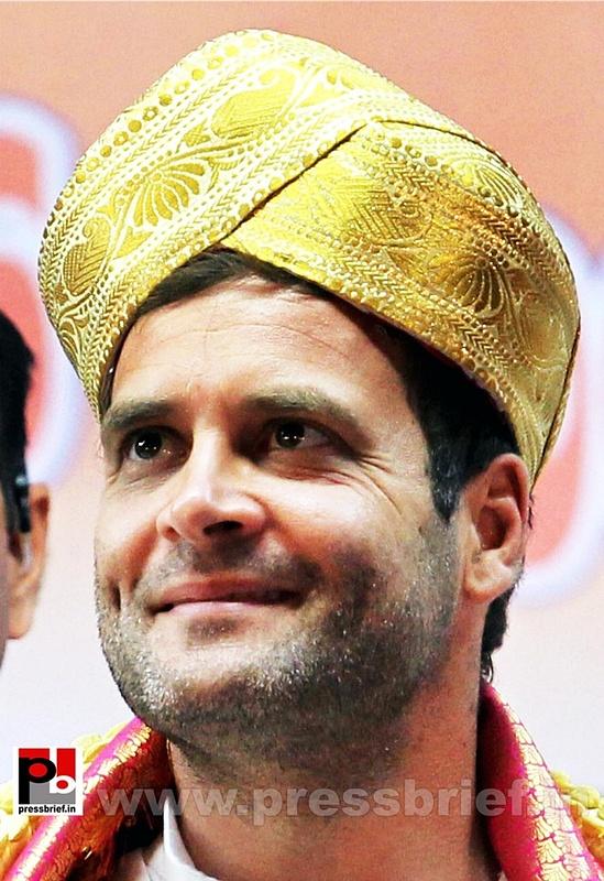 Rahul Gandhi at Bengaluru, Karnataka (1)