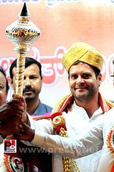Rahul Gandhi at Bengaluru, Karnataka