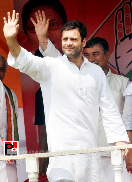 Rahul Gandhi at Silchar (1) by Pressbrief In