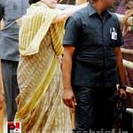 Sonia Gandhi at Kolar, Karnataka
