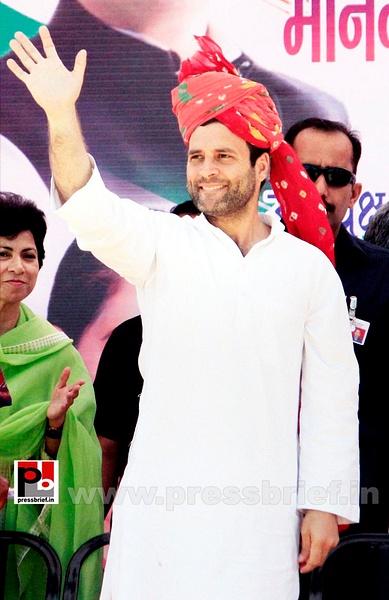 Rahul Gandhi at Rajasthan (2) by Pressbrief In