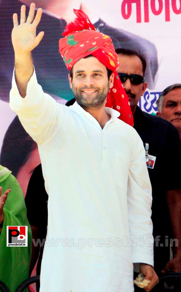 Rahul Gandhi at Rajasthan (1) by Pressbrief In