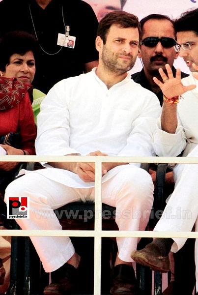 Rahul Gandhi at Rajasthan (6) by Pressbrief In