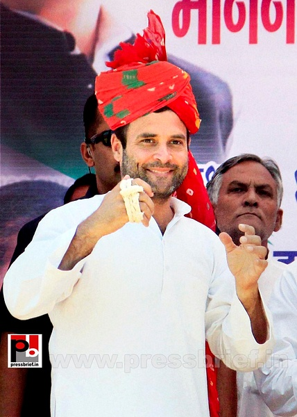 Rahul Gandhi at Rajasthan (3) by Pressbrief In