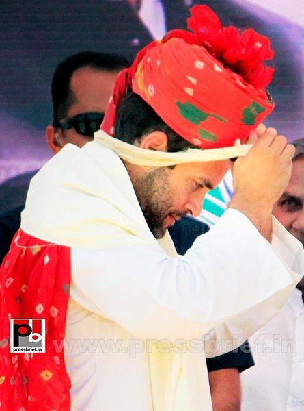 Rahul Gandhi at Rajasthan (4) by Pressbrief In