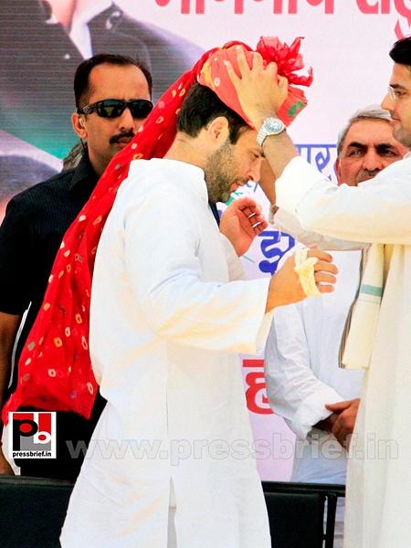 Rahul Gandhi at Rajasthan (5) by Pressbrief In