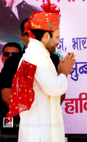 Rahul Gandhi at Rajasthan (8) by Pressbrief In