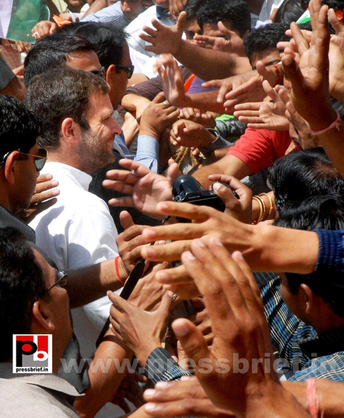 Rahul Gandhi at Rajasthan (11) by Pressbrief In