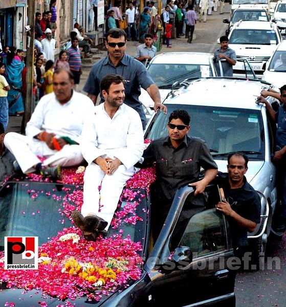 Rahul Gandhi at Gwalior, MP (1) by Pressbrief In