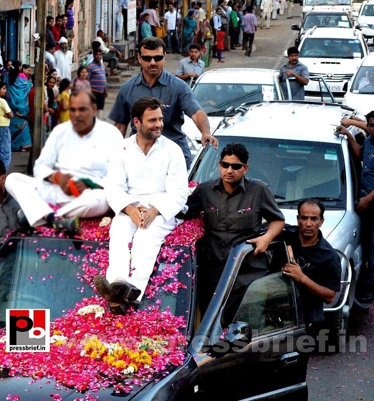 Rahul Gandhi at Gwalior, MP (1)
