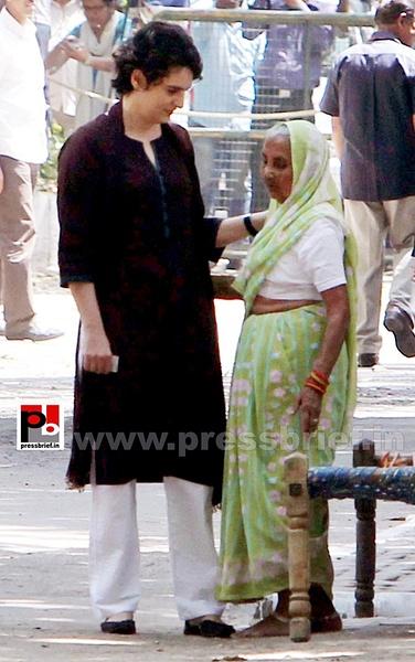 Priyanka Gandhi votes in New Delhi (3) by Pressbrief In