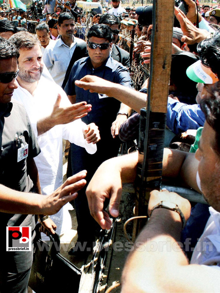 Rahul Gandhi at Doda, J&K by Pressbrief In