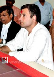 Rahul Gandhi's road show in Amethi