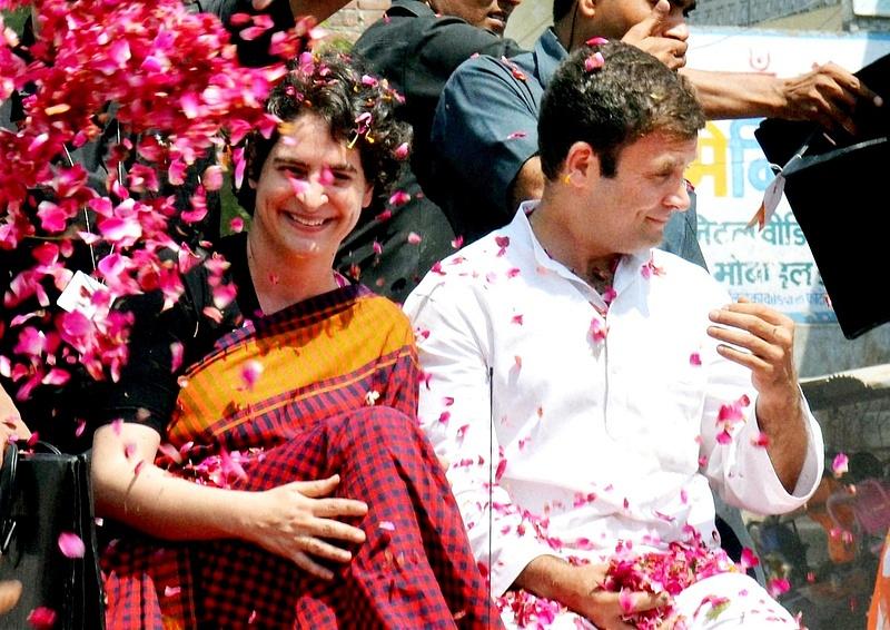 Rahul Gandhi's road show in Amethi (2)