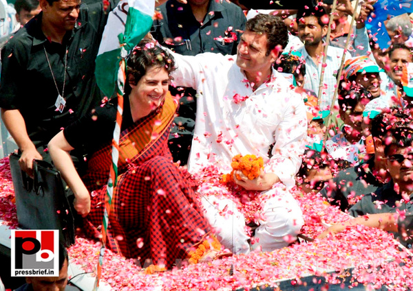 Rahul Gandhi's road show in Amethi (3) by Pressbrief In