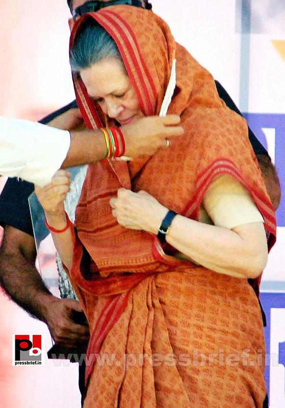 Sonia Gandhi at Jaipur, Rajasthan (3)