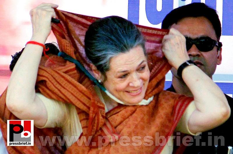 Sonia Gandhi at Jaipur, Rajasthan (4)