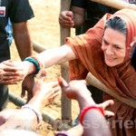Sonia Gandhi at Jaipur, Rajasthan