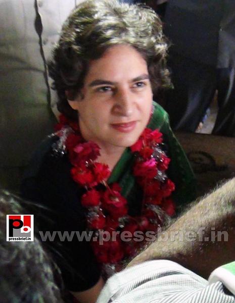 Priyanka Gandhi Vadra in Amethi (3) by Pressbrief In