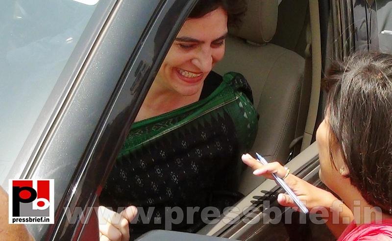 Priyanka Gandhi Vadra in Amethi (5)