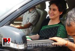 Priyanka Gandhi Vadra in Amethi