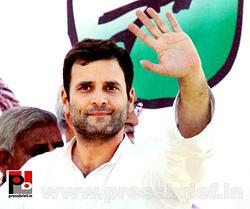 Rahul Gandhi at Unnao, UP