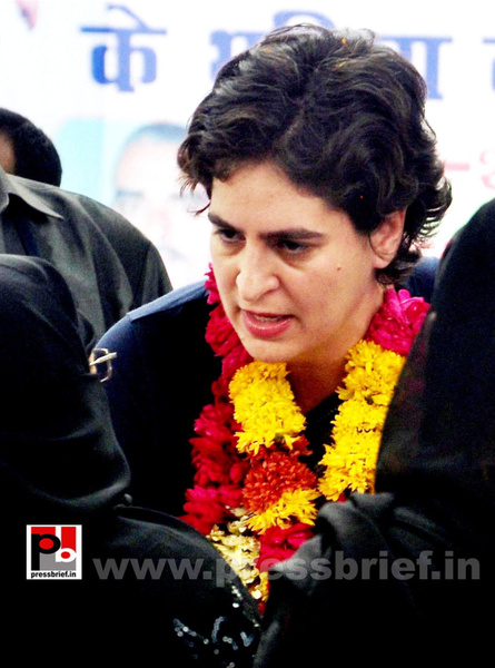 Priyanka Gandhi Vadra in Raebareli (2) by Pressbrief In