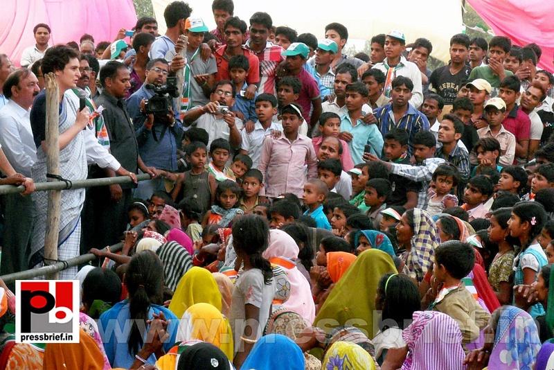 Priyanka Gandhi Vadra in Raebareli (6)