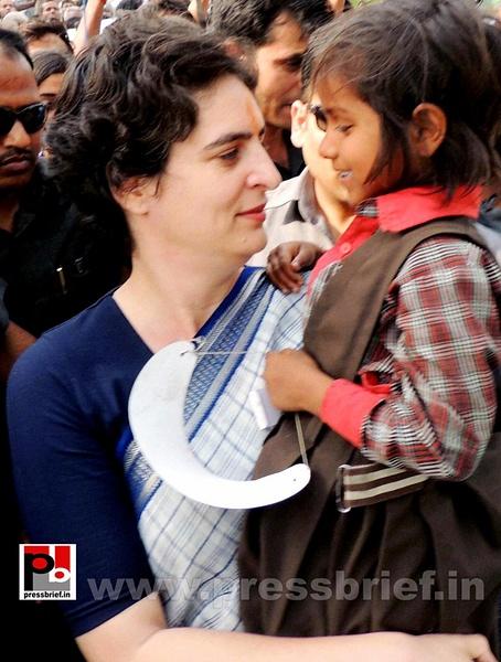 Priyanka Gandhi Vadra in Raebareli (7) by Pressbrief In