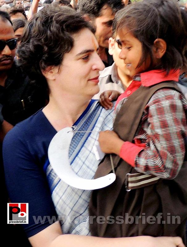 Priyanka Gandhi Vadra in Raebareli (7)