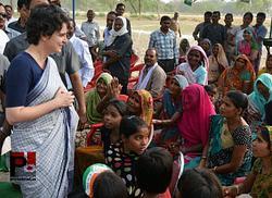 Priyanka Gandhi Vadra in Raebareli
