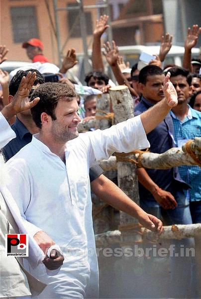 Rahul Gandhi at Kishanganj, Bihar (2) by Pressbrief In