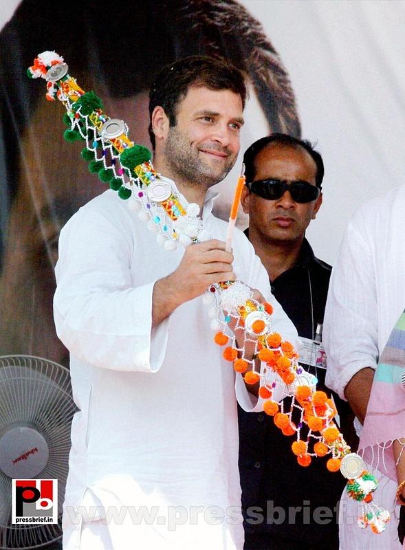 Rahul Gandhi at Khandwa, MP (1)