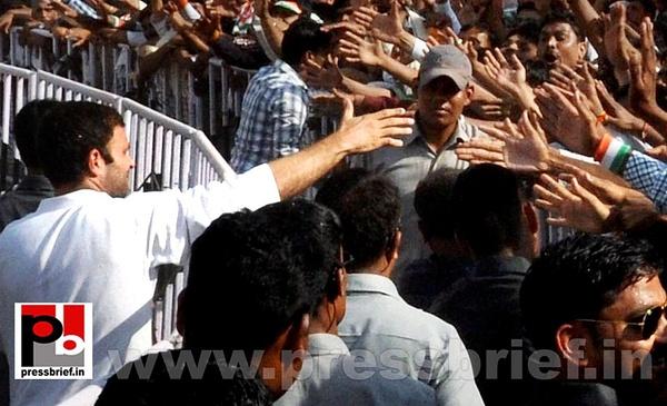 Rahul Gandhi at Khandwa, MP (3) by Pressbrief In