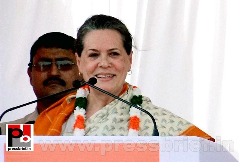 Sonia Gandhi at Neemuch, MP (4)