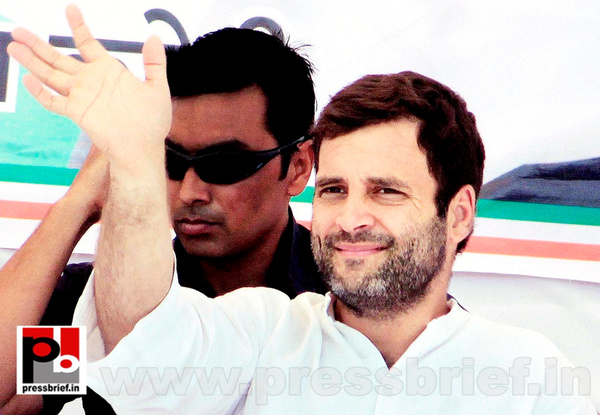 Rahul Gandhi at Karauli in Rajasthan (3) by Pressbrief In