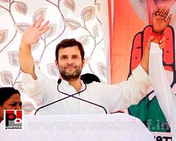Rahul Gandhi at Karauli in Rajasthan