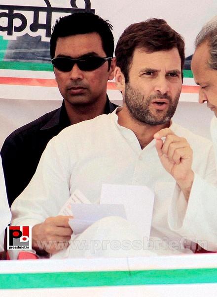 Rahul Gandhi at Karauli in Rajasthan (7) by Pressbrief In