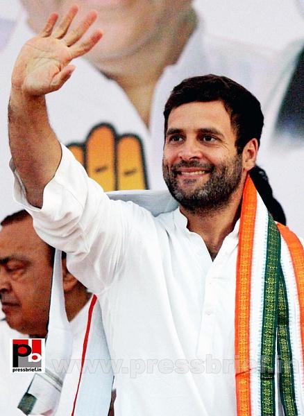 Rahul Gandhi at Bandra, Mumbai (1) by Pressbrief In