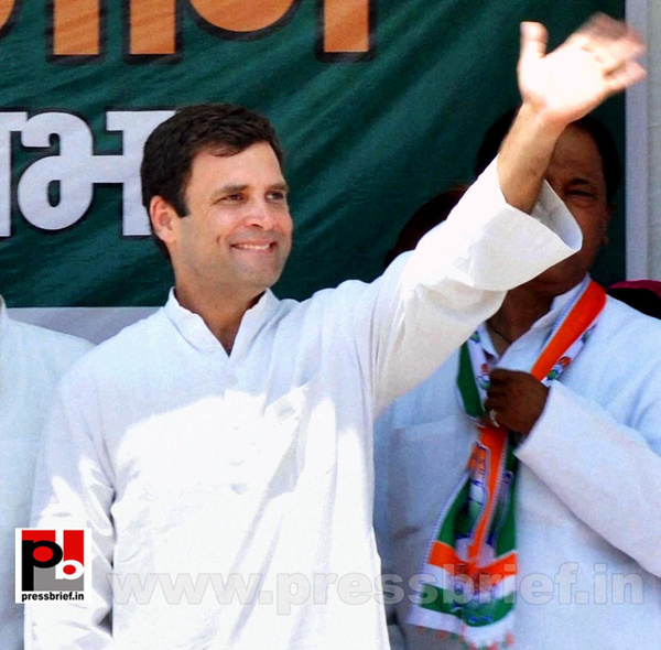 Rahul Gandhi in Mathura, UP by Pressbrief In
