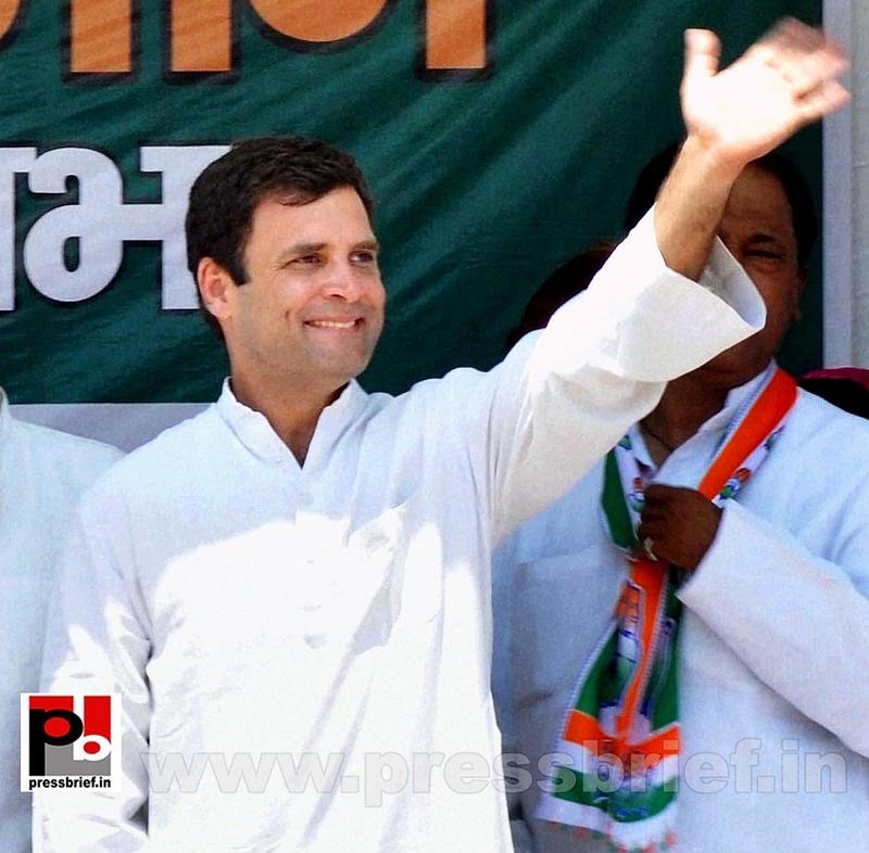 Rahul Gandhi in Mathura, UP (3)