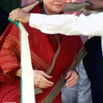 Sonia Gandhi at West Bengal