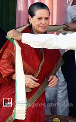 Sonia Gandhi at West Bengal
