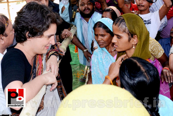 Priyanka Gandhi in Raebareli, UP (4) by Pressbrief In
