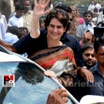 Priyanka Gandhi in Raebareli, UP