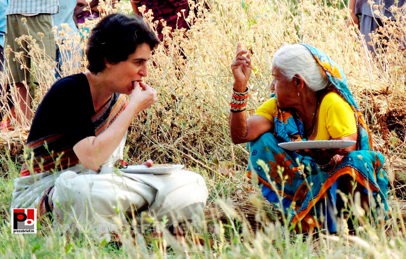 Priyanka Gandhi in Raebareli, UP (3)