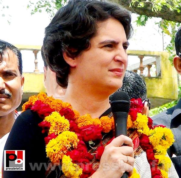 Priyanka Gandhi in Raebareli, UP (17) by Pressbrief In