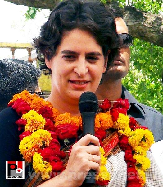 Priyanka Gandhi in Raebareli, UP (18) by Pressbrief In