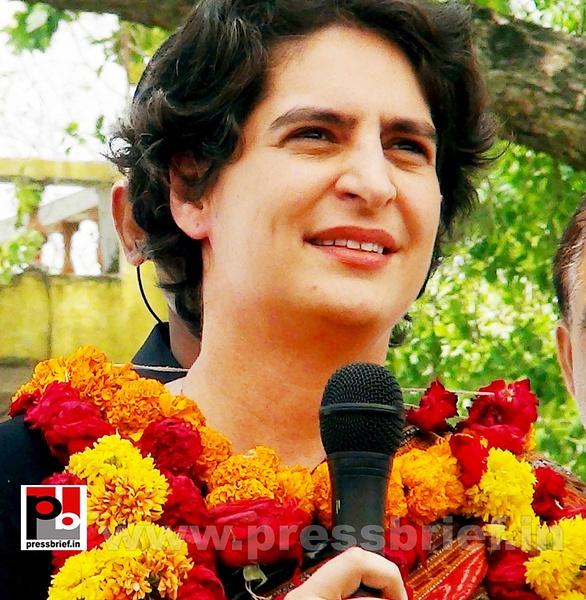 Priyanka Gandhi in Raebareli, UP (19) by Pressbrief In