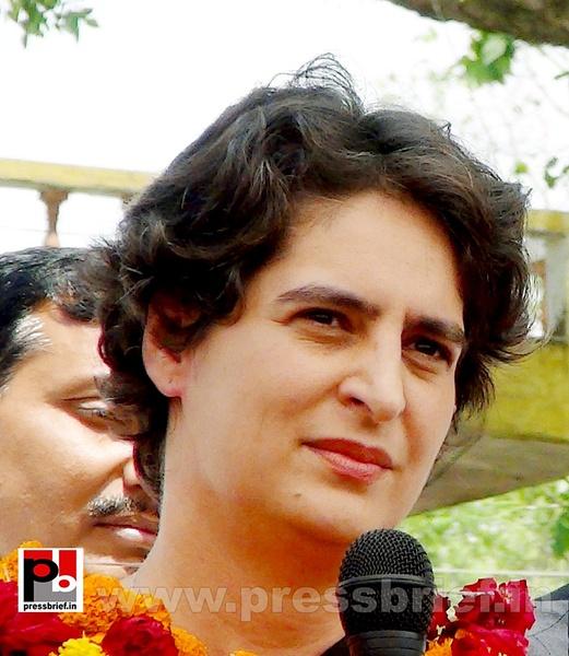 Priyanka Gandhi in Raebareli, UP (20) by Pressbrief In